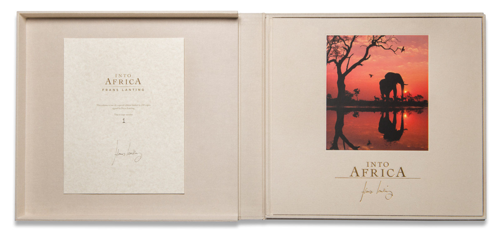 Into Africa Collectors Edition Open
