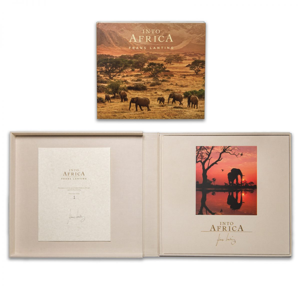 Into Africa Collectors Edition and Standard Edition