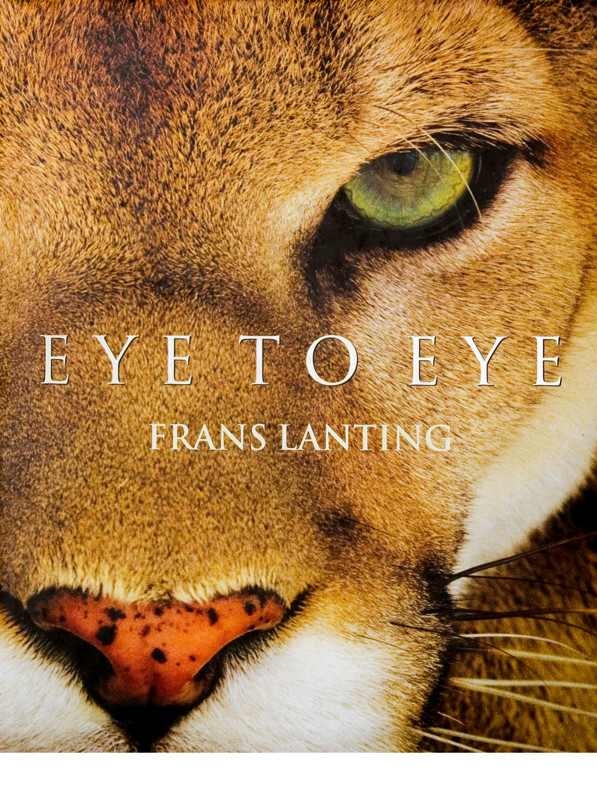 Lanting Eye To Eye Book Cover