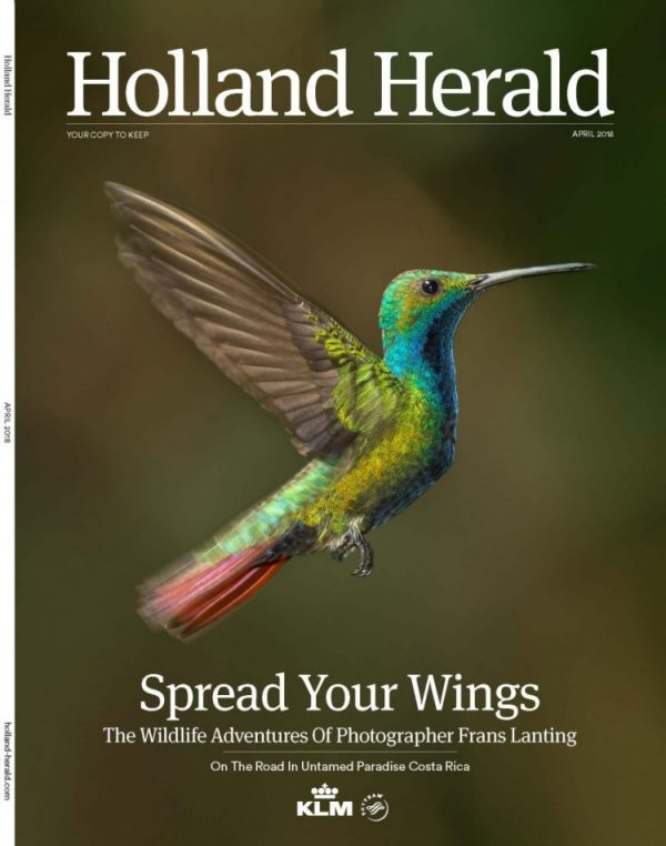 Frans Lanting Feature in April 2018 Holland Herald