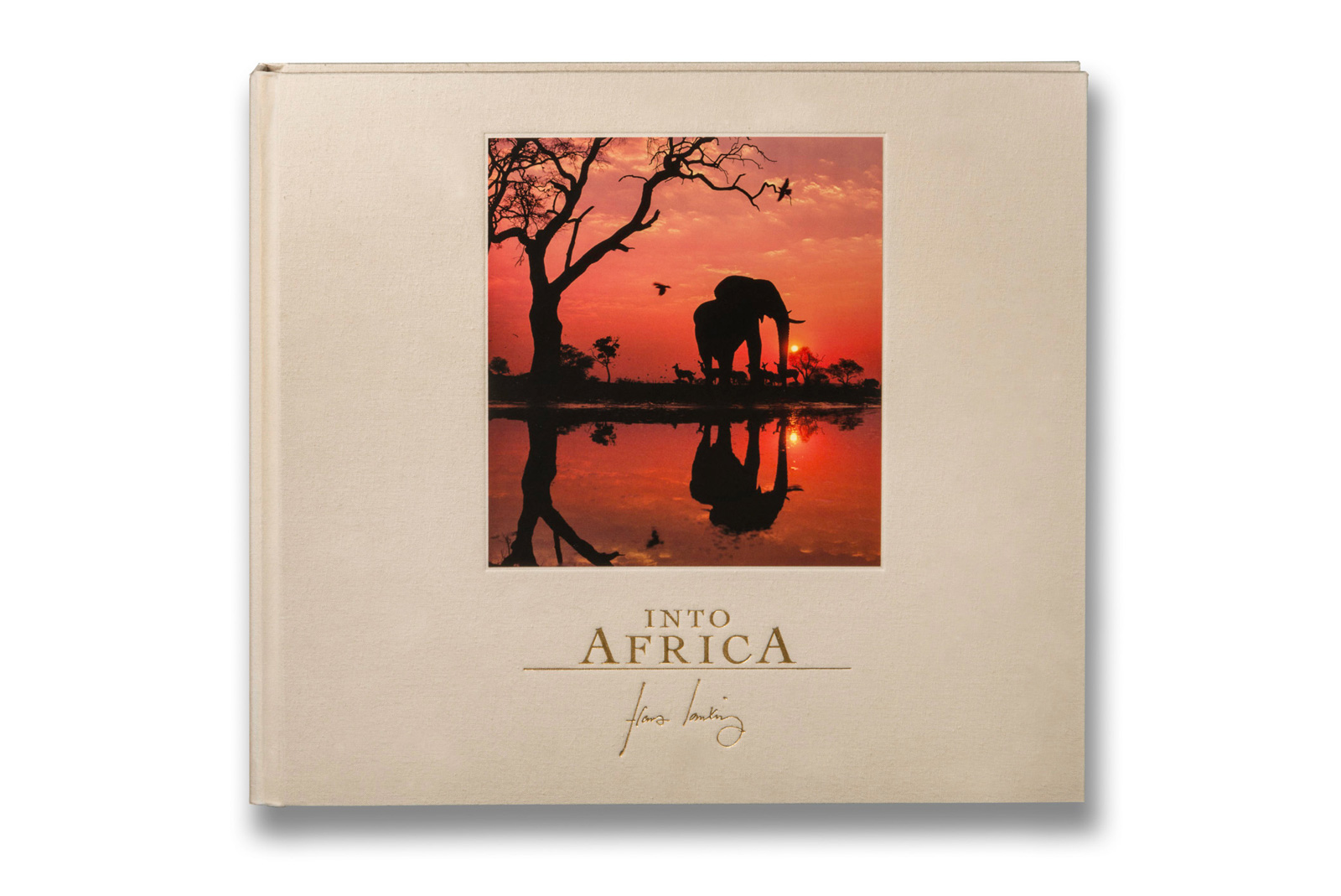 Into Africa Collectors Edition Book Cover, 2017