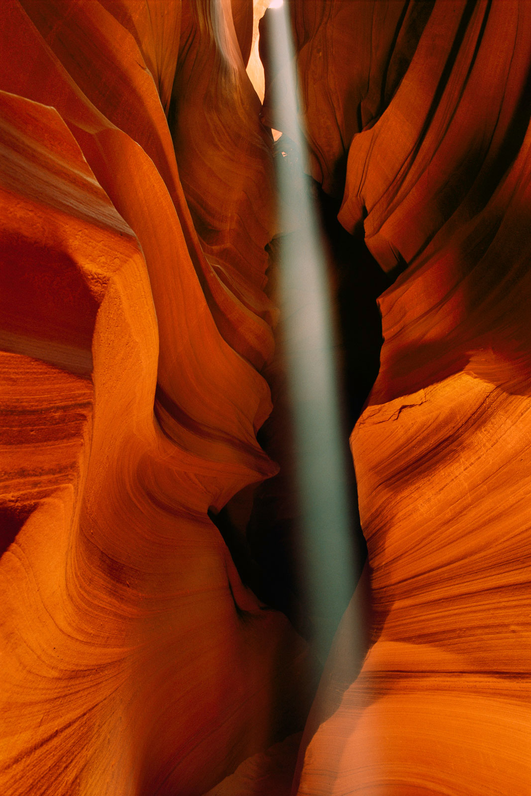 Shaft of light, Antelope Canyon, Arizona, USA
