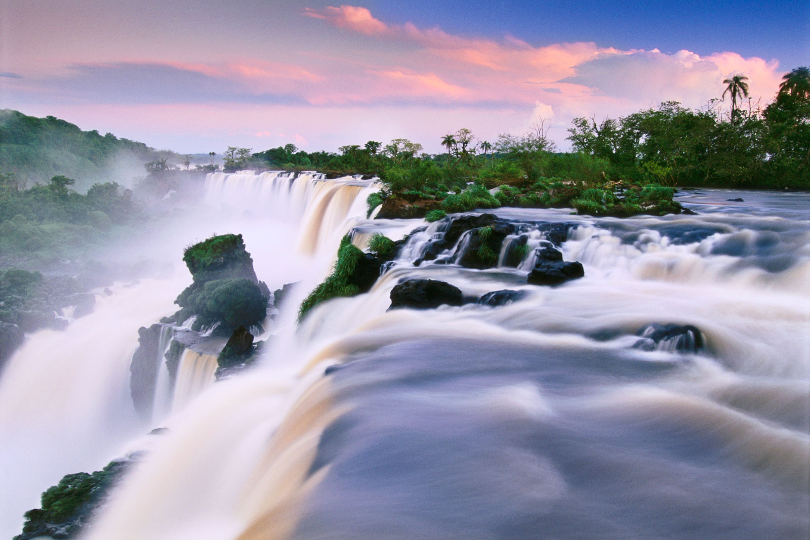 Waterfalls, Iguacu National Park, Argentina