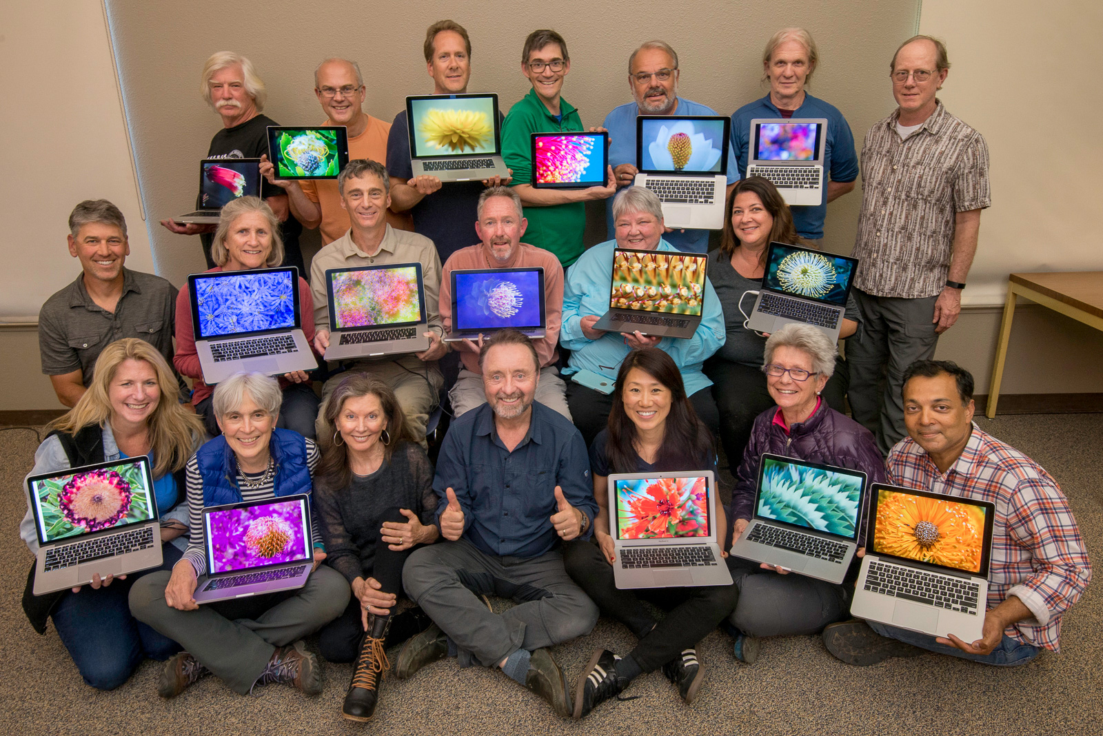Workshop participants, Santa Cruz, California